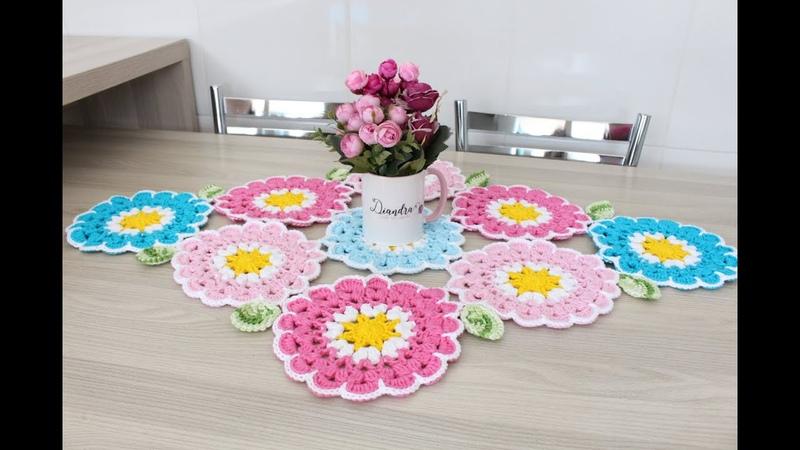 Trilho de Mesa Flowers - Diandra