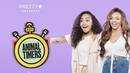 Little Mix's Jesy and Leigh Anne can't stop screaming Animal Timers