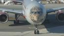 Авиакомпания Россия. Полет из Ларнаки в Москву Леолет Boeing-777 2018
