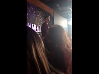 Shawn mendes at the «q&a», denver, july 2, 2019