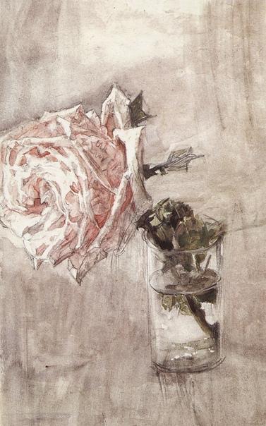 « одного шедевра». «Роза в стакане», Михаил Врубель