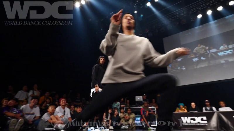 RUSH BALL vs Les Twins FINAL HIPHOP WDC 2019 World Dance Colosseum WDC