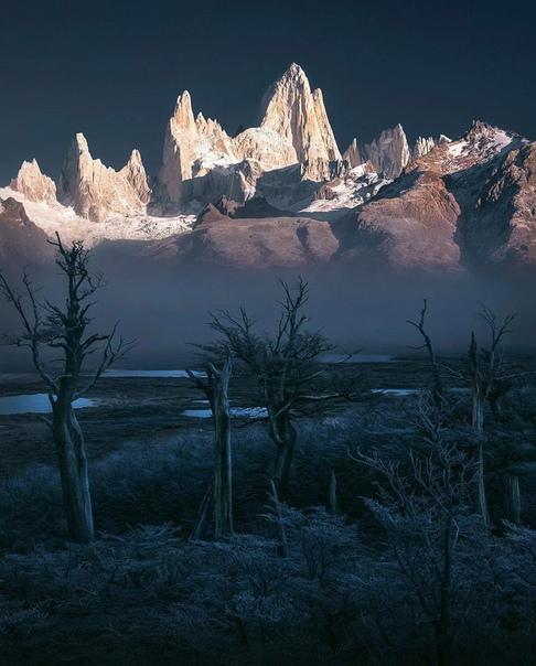 Вершина Фицрой (Патагония, Аргентина)