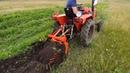 Минитрактор Уралец 220 - Суровые испытания картофелекопалки