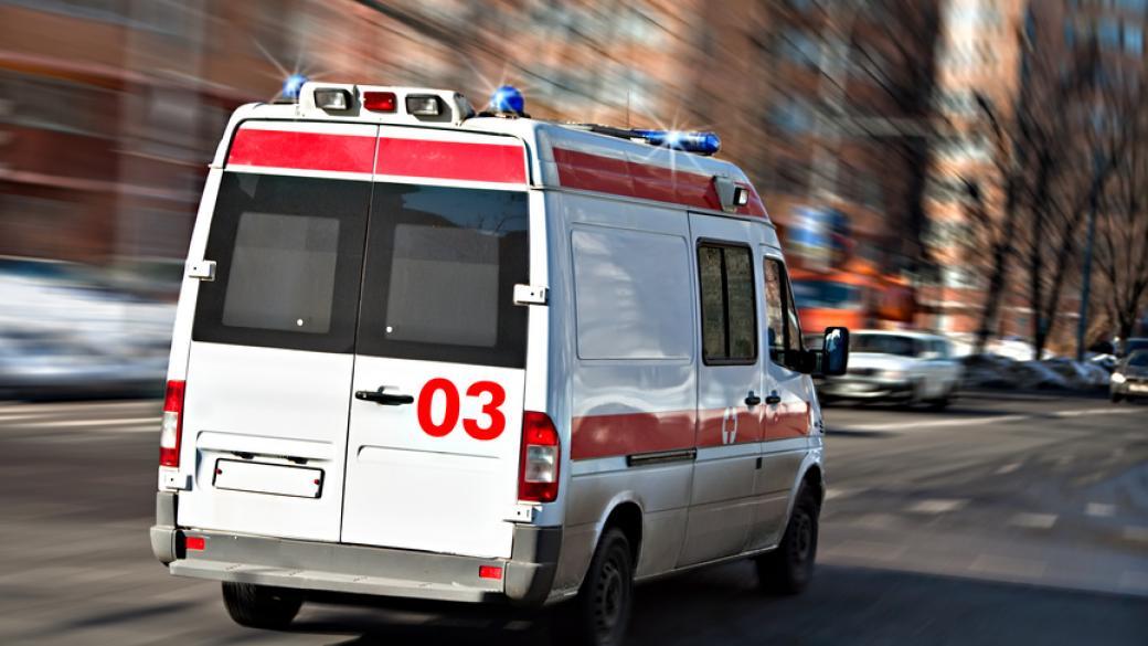 С КПП «Александровка» в больницу забрали 6-летнего ребенка