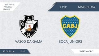 AFL19. America. Primera. Day 7. Vasco Da Gama - Boca Juniors.