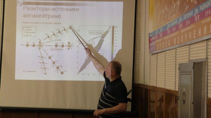Широков Е. В. - Физика нейтрино - Реакторные нейтрино