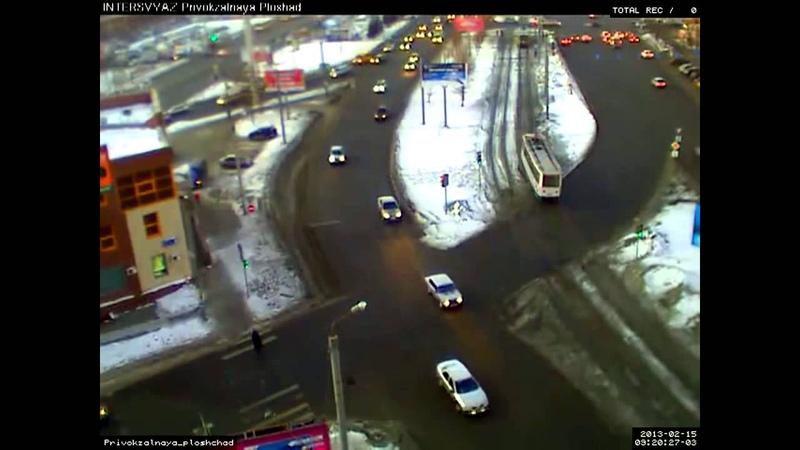 В Челябинске упал самолет или метеорит.mp4