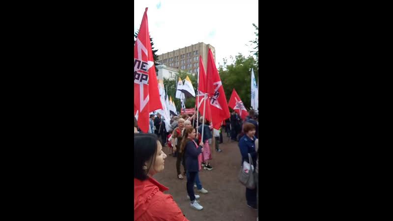 Митинг на Суворовской