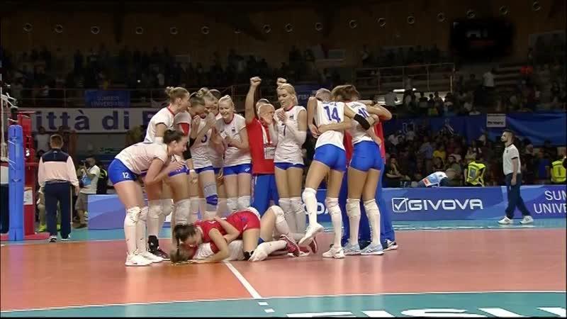 Как драматично сегодня русские девушки вырвали победу в финале Универсиады
