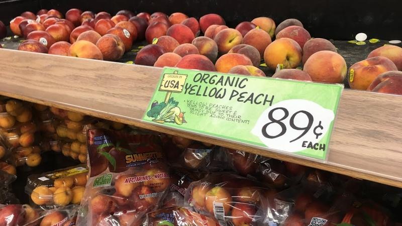 Какие цены на продукты в супермаркете? Нью Йорк моими глазами. 2 недели в New York.