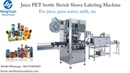 Automatic Bottle Shrink Sleeve Labeling Machine Applied for Juice Bottle