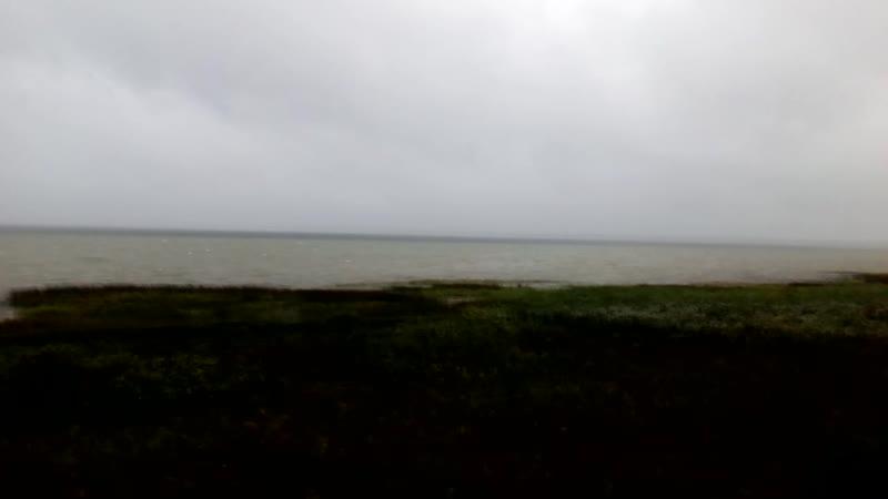 Шторм на Плещеевом озере.Переславль-Залесский.