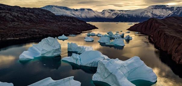 На 0,5 мм поднялся уровень Мирового океана в июле 2019 года из-за экстремального таяния ледников Гренландии