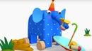 Деревяшки - сборник серий 10 - развивающие мультфильмы для самых маленьких 0-4