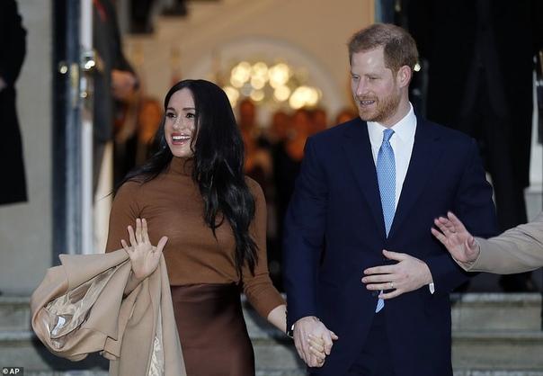 Принц Гарри и Меган Маркл отказались от королевского финансирования