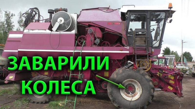 Подготовка комбайнов Палессе КЗС 7 к уборке урожая