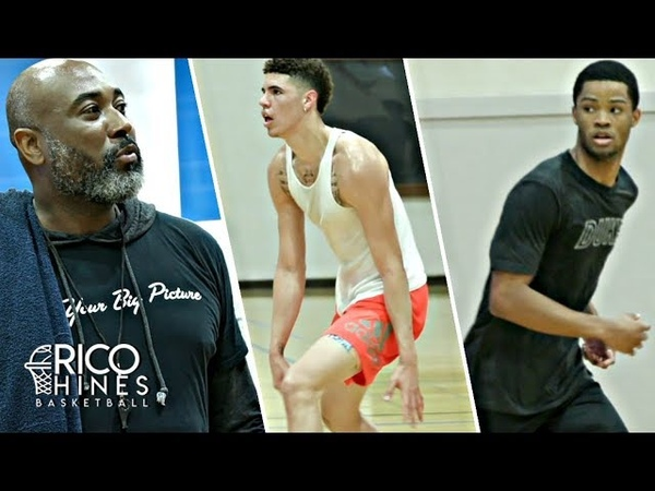 Lamelo Ball, Cassius Stanley, and more at Rico Hines private run Earl Watson drops knowledge
