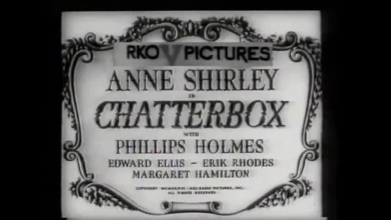 Chatterbox 1936 VHS Transfer eng english