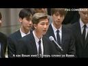 BTS Speech / БТС 180924 - Launch of the GenUnlimited Youth Strategy/Речь Намджуна в ООН рус.саб