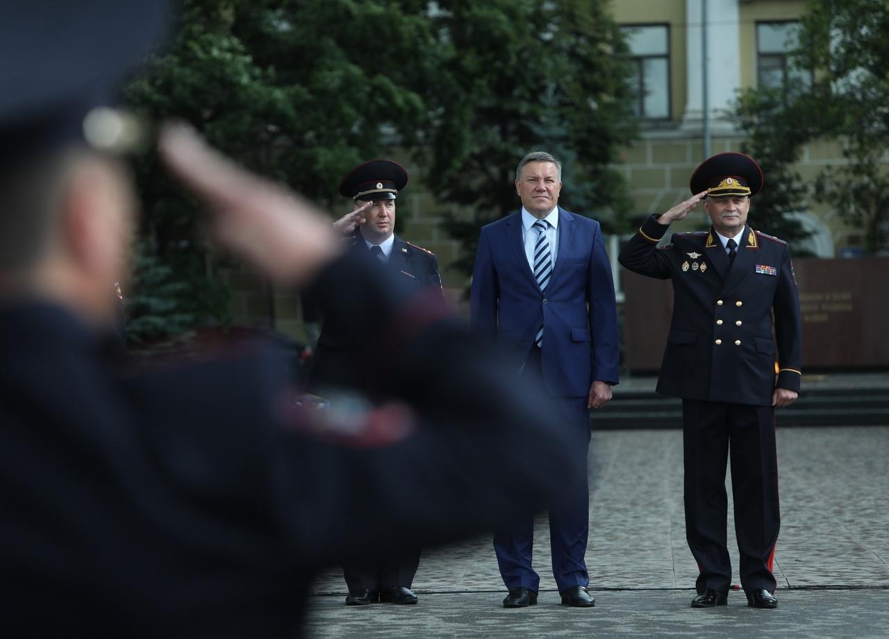 Лучшего инспектора ДПС выбрали в Вологде