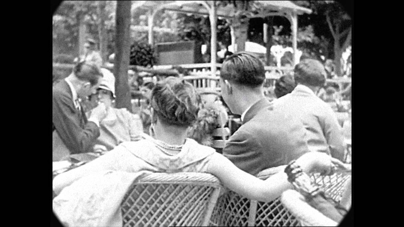 1927 A Trip Through the Streets of Paris speed corrected w added sound