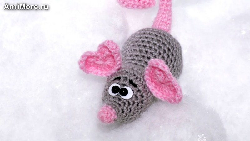 Амигуруми схема Крыс Мурфик Игрушки вязаные крючком Free crochet patterns