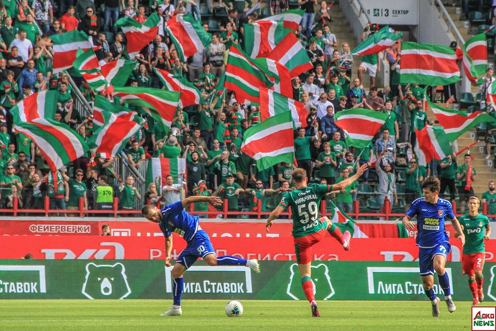 Локомотив - Тамбов. Фото: Дмитрий Бурдонов / Loko.News