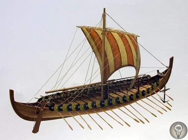 Гокстадский корабль - о корабле викингов, найденном в 19 веке в одном из курганов.