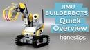 JIMU BUILDERBOTS KIT by Ubtech. Quick Overview