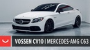 Mercedes AMG C63 Vossen CV10 Concave Wheel