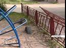 В Назарово ребенок дотронулся до ограждения на детской площадке и получил удар током