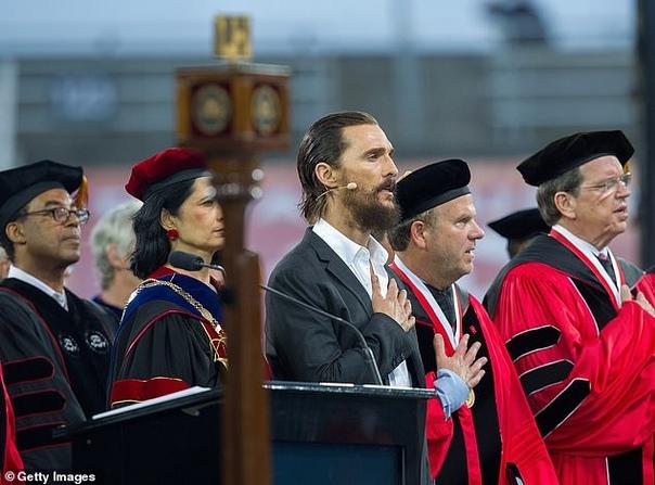 Мэттью Макконахи стал профессором университета в Техасе