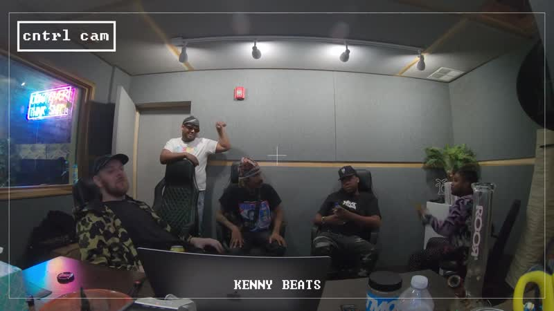 KENNY BEATS KEY! FREESTYLE. The Cave - Episode 11
