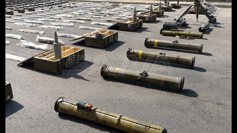 More weapons seized in Southern Syria | Early August of 2019