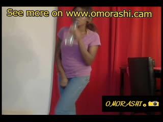 Jav pee holding omorashi