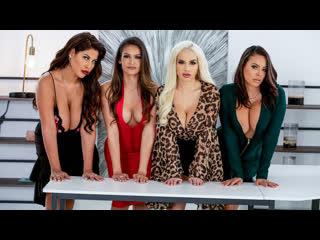 Office 4-play latina edition bridgette b, katana kombat, luna star, victoria june [trailer]