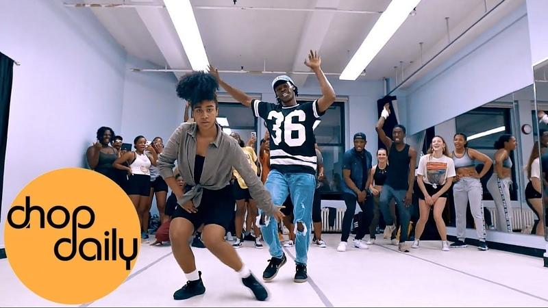 Burna Boy - Anybody (Dance Class Video) | @P90Step x @_desire.x Choreography | Chop Daily