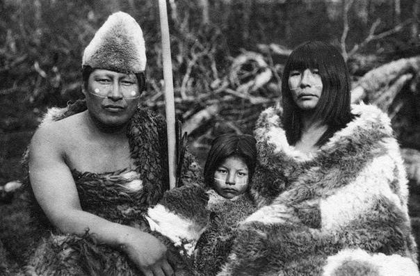 На Огненной Земле, архипелаге на южной оконечности Южной Америки, раньше проживало племя яганов