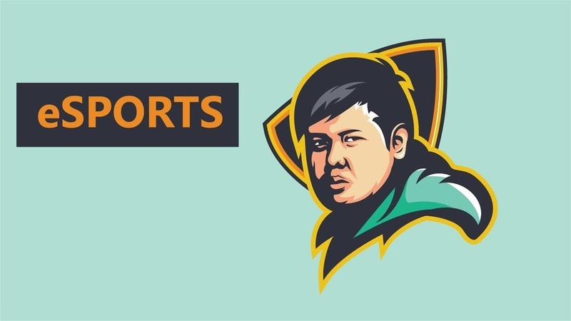 [SpeedArt] Vector logo esports Style   Adobe Illustrator cc2019
