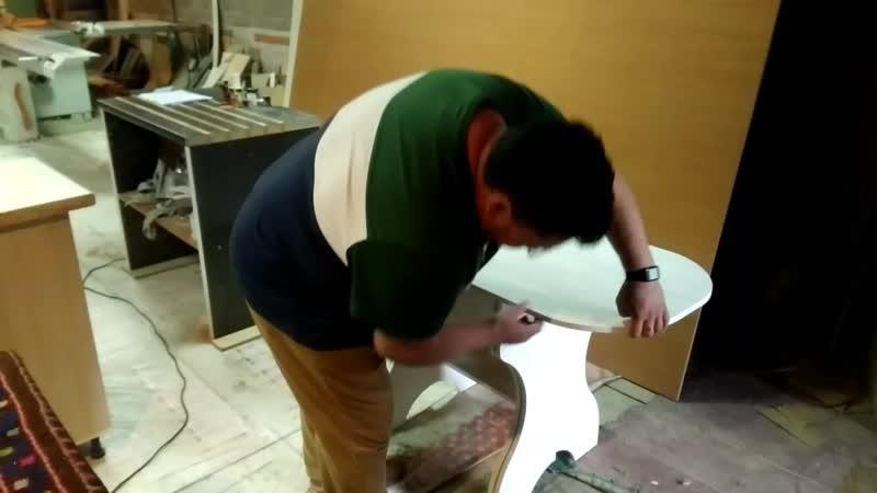 Столики трансформеры, для небольших помещений,к примеру для маленькой кухни. На заказ... Мебель на заказ от vk.com/pro_100mebel