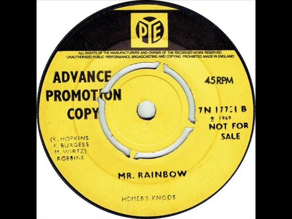 Homer's Knods – Mr. Rainbow ( 1969, Psych Pop, Ireland )