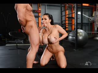 Aletta ocean hot gym session big ass big tits blowjob black hair hardcore gym sports, porn