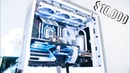 Lt Lickme $10000 AUD Custom Water Cooled Gaming Editing PC 2990wx RTX 2080 Ti Benchmarks