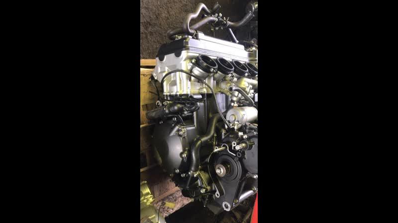 Проверка контрактного двигателя Honda CBR1000RR (SC57E) перед отправкой клиенту | motod.ru