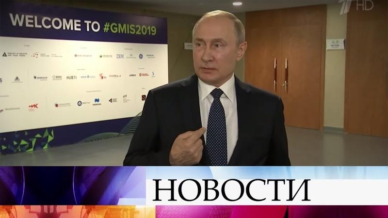 В.Путин призывает не предпринимать ничего, что могло бы навредить двусторонним отношениям с Грузией.