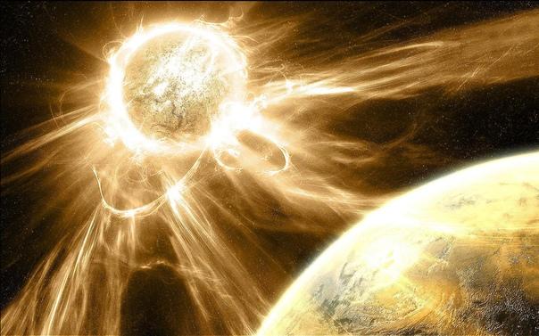 500 секунд  столько времени требуется свету, чтобы преодолеть расстояние от Солнца до Земли
