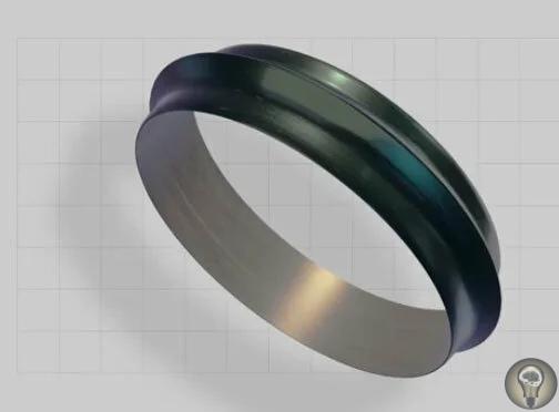 Обсидиановый браслет возрастом в 9500 лет, созданный при помощи машинной обработки
