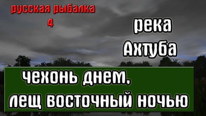 Русская рыбалка 4(рр4) - река Ахтуба. Чехонь днем, лещ восточный ночью.