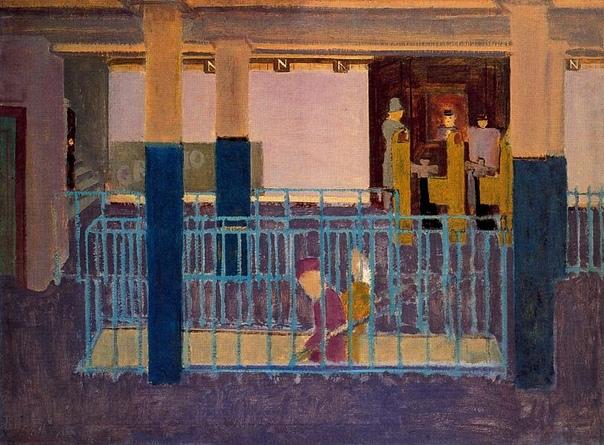«История одного шедевра». «Вход в метро», Марк Ротко 1938г. Холст, масло. Размер: 86.4×117.5 см. Частная коллекция Картина Марка Ротко «Вход в метро» написана задолго до того, как он изобретет